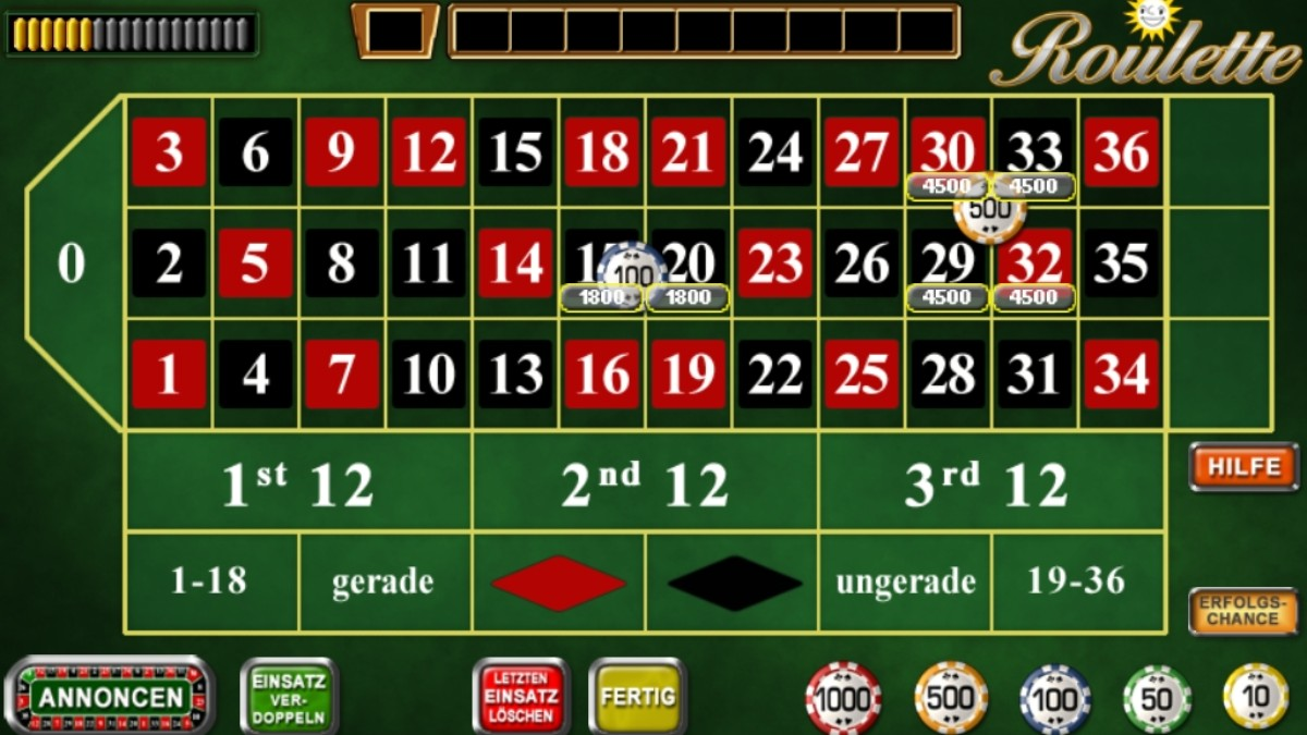 Live roulette free play